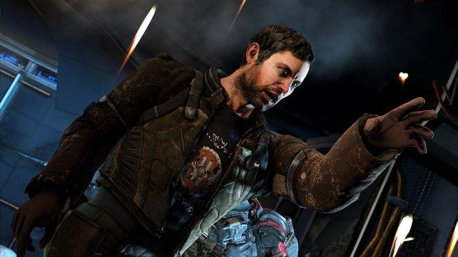 Zu Beginn von Dead Space 3 ist Isaac ein nervliches Wrack.