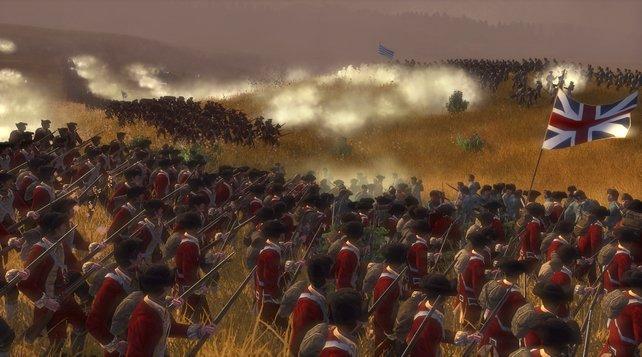 Im großen Landheer tummeln sich erstmals Musikanten, die eure Truppen antreiben, aber auch selbt zur Waffe greifen.