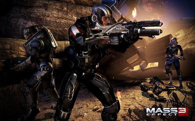 Von Commander Shepard wird nicht nur hirnloses Ballern verlangt, sondern auch tiefgreifende Entscheidungen.