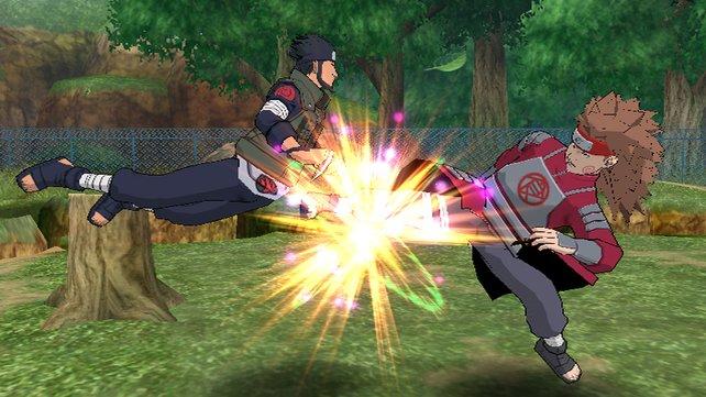Der Vokuhila ist in Clash of Ninja Revolution 3 noch immer angesagt.