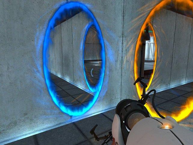 Der Physik-Shooter Portal 2 ist besonders im kooperativen Modus eine harte Nuss.