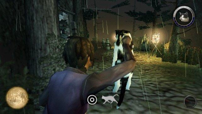 Mit der Shinobi-Katze können wir Gegner ablenken.