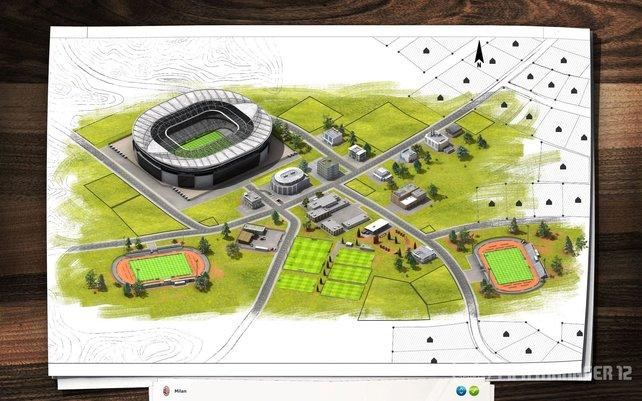 Der Stadionbau-Modus bietet neue Möglichkeiten.