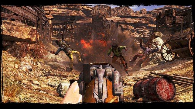 In Call of Juarez - Gunslinger kommt die Chrome 5 Engine zum Einsatz.