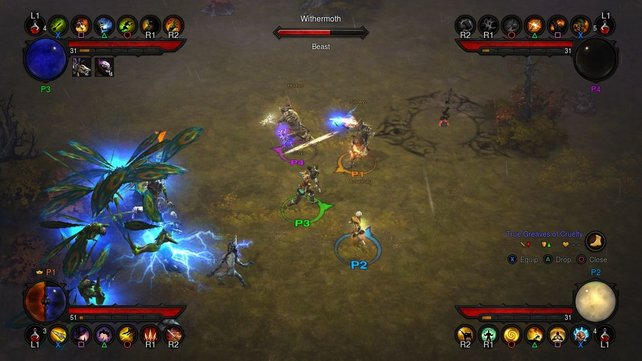 Online macht Diablo 3 wieder viel Spaß, lokal allerdings weniger.
