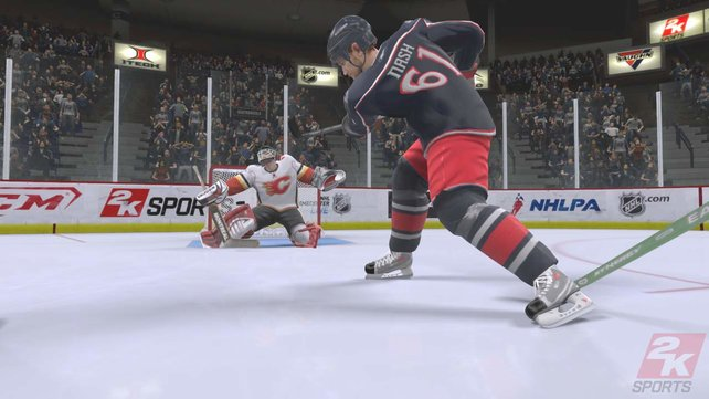 Viele Details erfreuen den NHL-Fan.