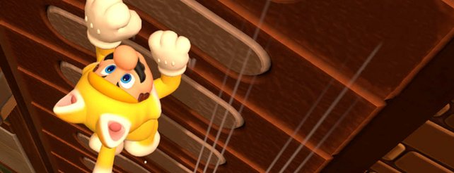 Miau! Mario zeigt die Krallen in Super Mario 3D World.