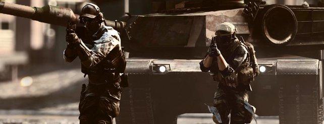Battlefield 4: Mannschaftsspieler genießen Vorteile