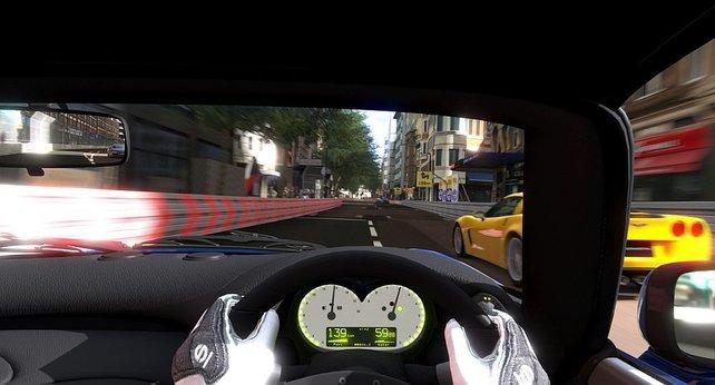 Die Cockpits samt Fahrer sehen klasse aus.
