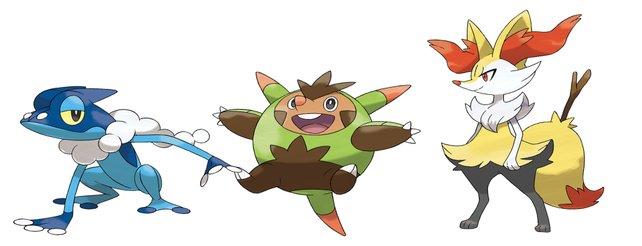 Pokémon X & Y: Die erste Entwicklungsform der neuen Starter-Pokémon (Video)