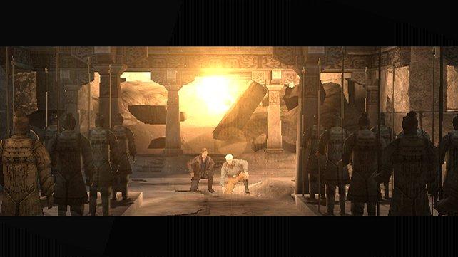 So fängt die Leidensgeschichte an: Alex und Rick entdecken das Grabmal des Drachenkaisers