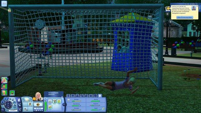 Nach zwölf Jahren können eure Sims auch endlich Fußball spielen.