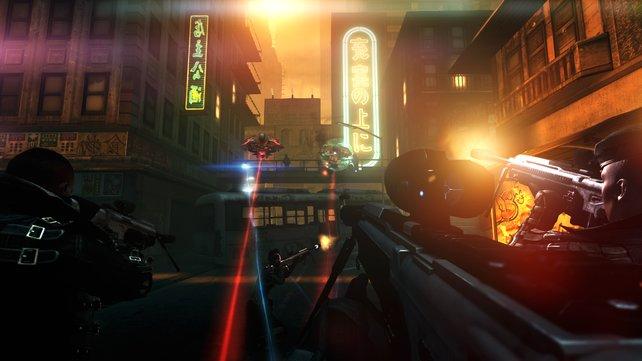 Die Szenarien basieren teilweise auf den Levels des Originals.