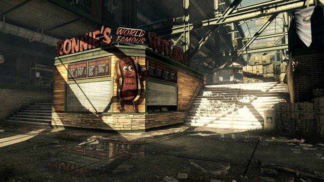 """Noch geht es friedlich auf der neuen Karte mit dem Namen """"Strikezone"""" zu."""