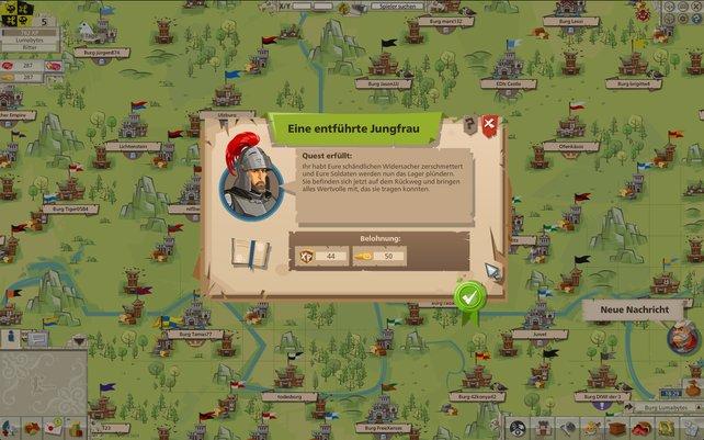 Der Angriff auf Burgen zählt zu euren Hauptaufgaben im Spiel.