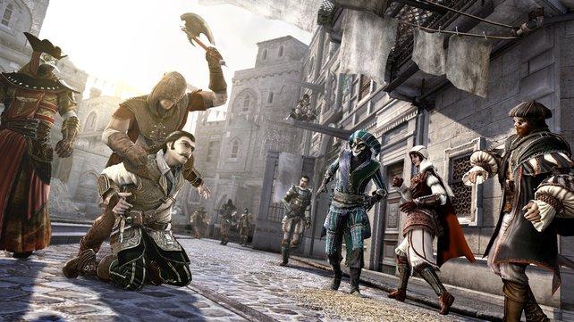 Ezio ist wieder da und macht Rom unsicher.
