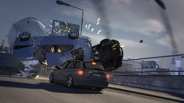 Laut RTL sieht so der Arbeitsalltag eines Autobahnpolizisten aus.