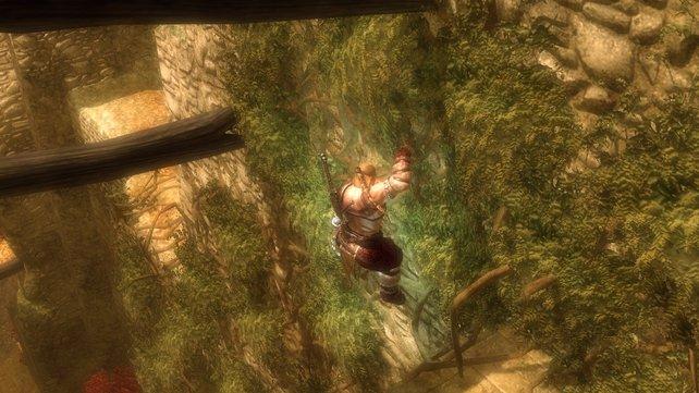 Ein Wikinger auf den Spuren von Lara Croft