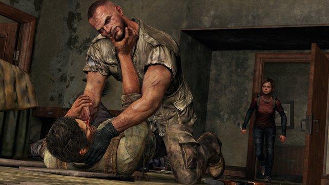 Nicht nur die Infizierten trachten Joel nach dem Leben.