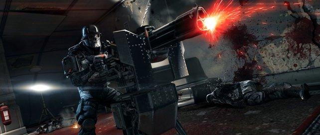 Stationäre Geschütze geben zusätzliche Feuerkraft und lassen sich auch mitnehmen.