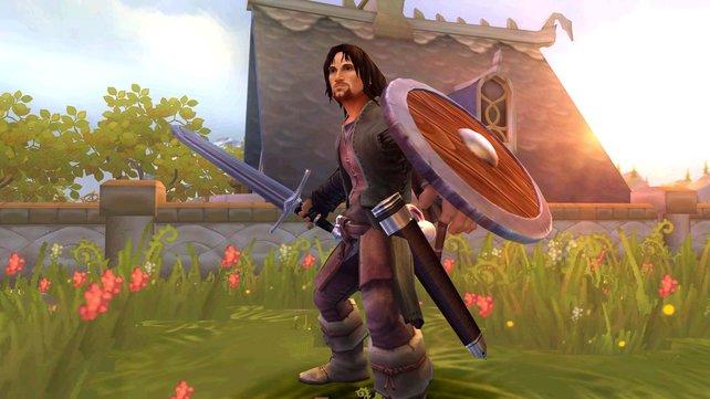 Aragorn, ein Held, wie er im Buche steht.