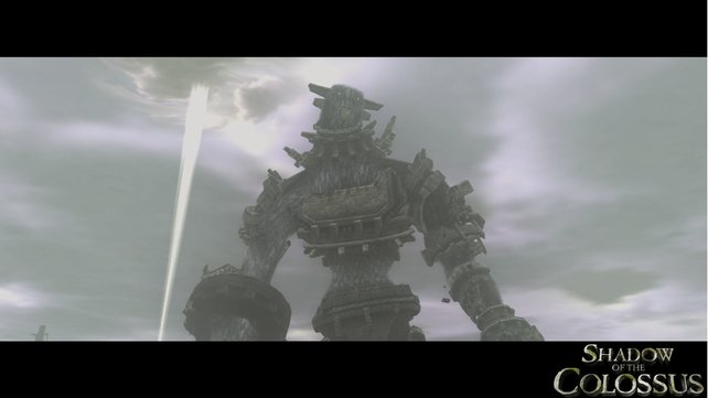 Die Kolosse in Shadow of the Colossus sind riesig und anmutig.