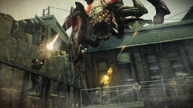 In Resistance 3 kämpft ihr erneut gegen die Chimera-Aliens.