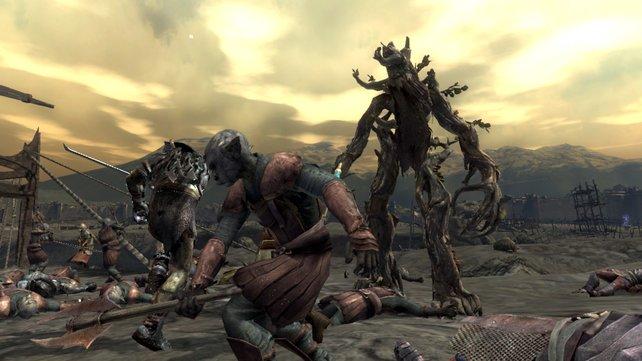 Ob Ent oder Ork: Der Spieler kann auf beiden Seiten in die Schlacht ziehen