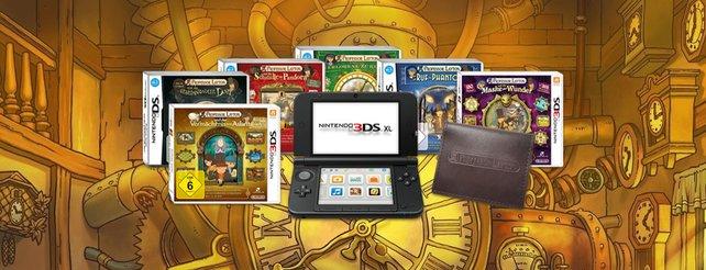 Professor Layton: Großes Gewinnspiel von Nintendo