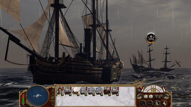 Historisch nicht korrekt: Das Dampfschiff erfindet ihr früher, als die Geschichtsbücher belegen.