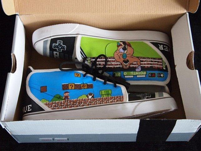 Wie war das gleich mit dem Schuhkarton? Einige NES-Fanatiker nehmen solche Spitznamen einfach zu wörtlich.