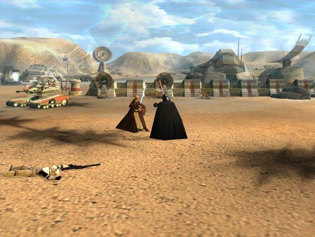 Darth Vader und Obi Wan: Alte Bekannte im Clinch