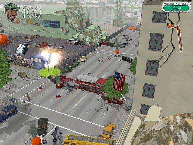 Chaos herrscht in L.A.