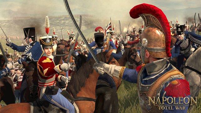 Die Kavallerie spielt eine wichtige Rolle auf den Schlachtfeldern Europas.