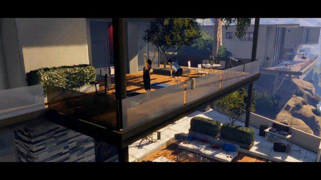 Ihr seht eure mögliche zukünftige Bude in GTA 5.