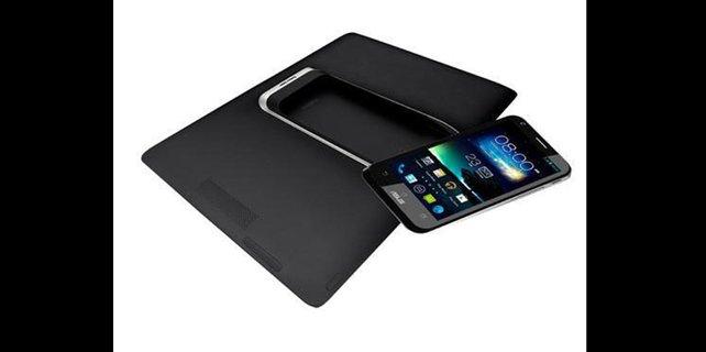 Raffiniert: Das PadFone kann sich vom Handy zum Tablet transformieren.