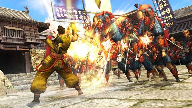 Ieyasu macht sich im Spielverlauf einige Feinde.