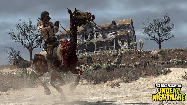 Insgesamt vier Pferde der Apokalypse könnt ihr einfangen, jedes mit einer Spezialfähigkeit.
