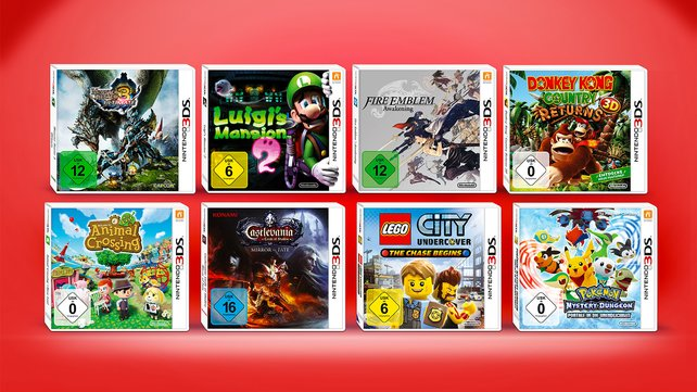 Diese Spiele stehen zur Auswahl!