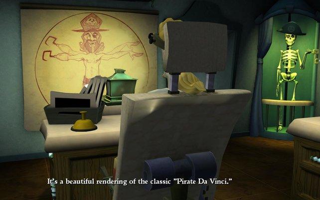 Kann Pirat Da Vinci Guybrush helfen?