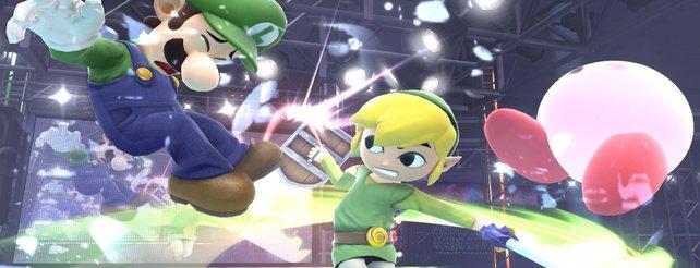 Super Smash Bros.: Toon-Link betritt die Arena