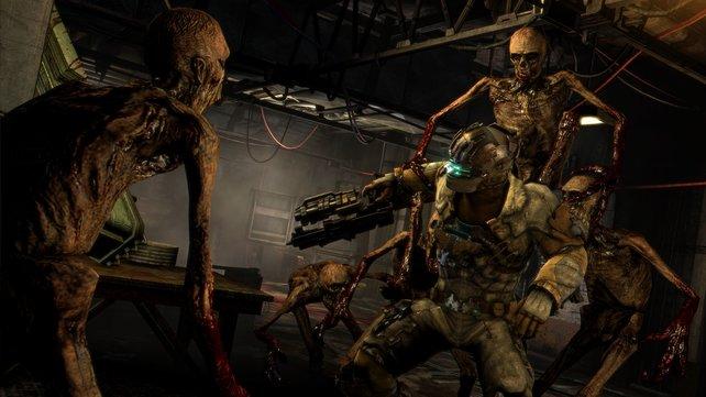 In Dead Space 3 sind die Necromorph wieder mit von der Partei.
