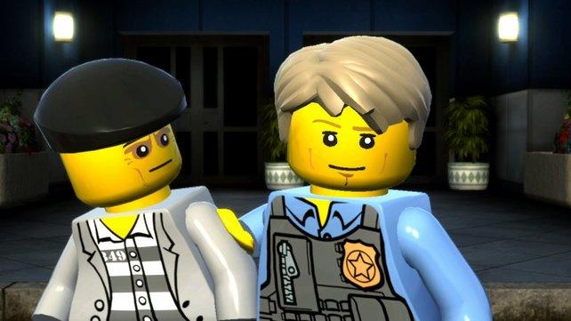 Undercover-Polizist Chase McCane verhaftet einen Ganoven.