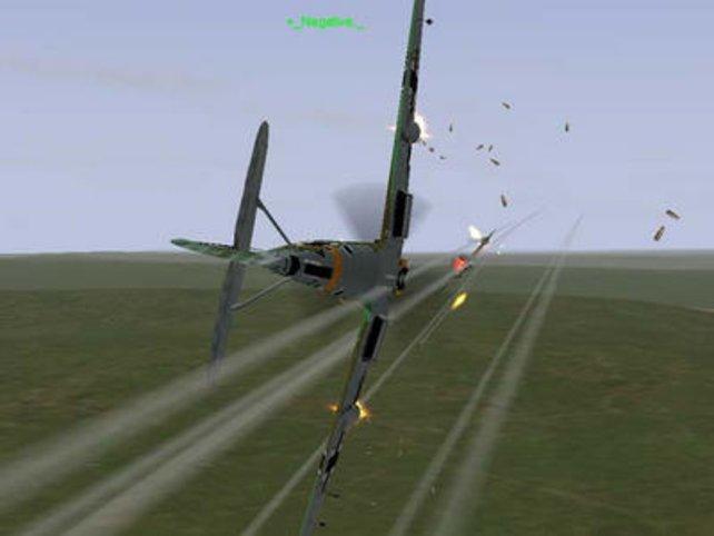 Spannende Luftschlachten