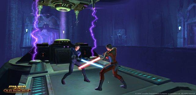 Sith gegen Jedi - das ist wie Cola gegen Pepsi, Justin Bieber gegen jeden, World of Warcraft gegen Star Wars.