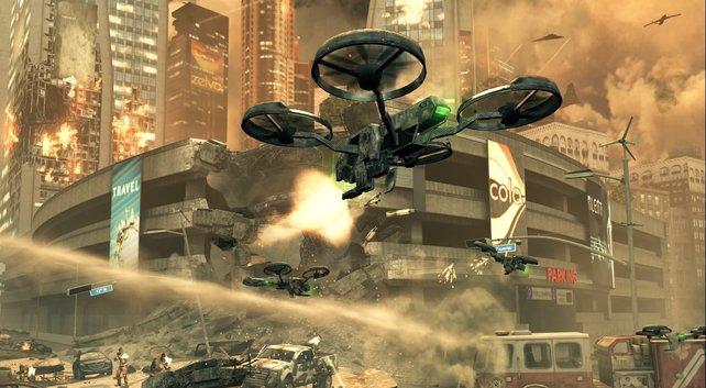 Der Drohnenkrieg beginnt im Jahr 2025.