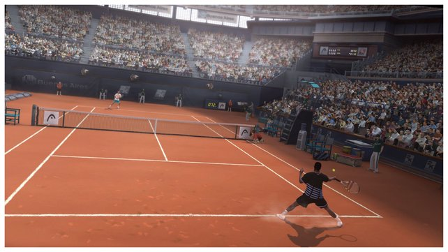 Wählt auf Sandplätzen ausdauerstarke Spieler wie Rafael Nadal.
