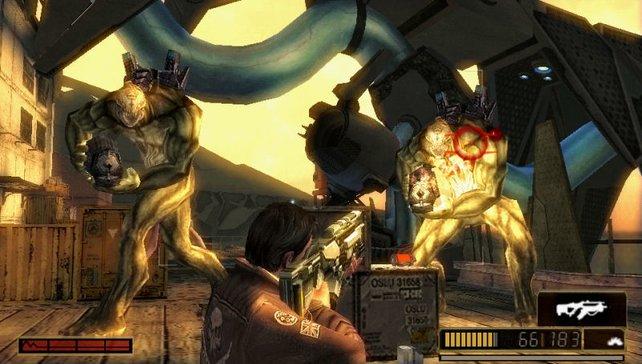 Die Feinde kennt ihr aus den PS3-Spielen.