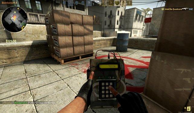 Bomben legen gehört nach wie vor zu den alltäglichen Aufgaben eines Terroristen in Counter-Strike.