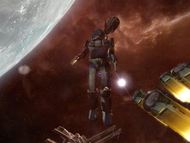 Austieg in den Weltraum, gefährlich aber möglich